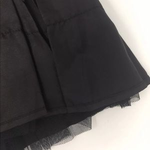 Old Navy Girls Black Tutu Skirt with Gold Elastic Band 2T 4T NWT